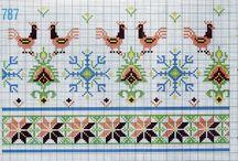 Σταυροβελονιά - Greek traditional patterns