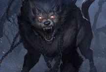 Werewolf the Apocalypse / Werewolf the Apocalypse Art