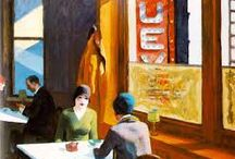 Edward Hopper Interiors / paintings - figures and interiors
