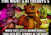 Five Nights At Freddy's Memes / Memes for FNaF, because after playing/watching such a scary, jump-scare-filled, survival rage game, we ALL need something to laugh at before we get into a fetal position while you watch the shadows lurk around at night before you finally, if ever, GO... TO... SLEEP... (Message me or leave a request comment if you want to be added to any of my boards!) / by Pokema-chan Otaku Lawliet Uchiha ♡♥O(≧▽≦)O♥♡