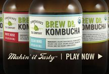 Kombucha You Can Buy / Products we enjoy and trust when we run out of our home brews and where to find them!