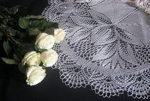 Wedding Shawl / Handmade knitting or crochet shawls and stoles!