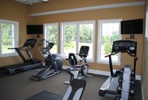 Fairport NY StoneBrook Clubhouse / The Amenities at StoneBrook give you opportunities for exercise, for enjoying friends and family in comfort, for Carefree Living - all within a safe, natural, neighborhood setting not to be found in other rental communities. The Clubhouse includes: a Pool, Exercise Room, Gathering Room with fireplace and TV, Kitchen, Large covered Porch, BBQ.
