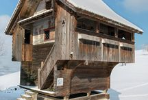 Chalets, Refugios and Alpine Architecture