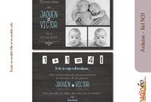 Faire-part de naissance / Collection de faire-part de naissance