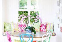 Colourful Furnishings