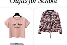 Outfits for school❤
