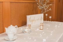 Cinderella Inspired Birthday Party / Venue: St. Elias Conference and Banquet Hall, Photographer: Ashley Notley, Magician: Busker Birthday, Cinderella: Glass Slipper Princess Parties, Cake & Cupcakes: JS Creations, Decor and Planners: RSVP Events, Kids Table & Chairs: Cody Party