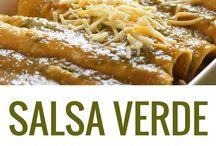 Mexican salsa verde