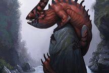 dragons - art