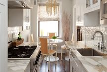 Kitchen interior for single ladies