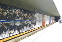 Metro Warszawa Ambient / Kampanie ambientowe w warszawskim metrze
