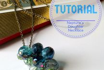 DIY Jewellery Tutorials / It's super easy to create some interesting accessories - don't always rely on the shop bought, try to make something yourself!