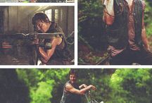 B.Daryl Dixon-pictures,colors