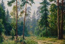 Krajinné malby