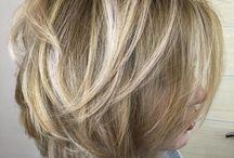 Hair cuts colour
