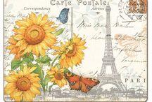 Deco Pics ~ Paris * Eifel Tower / Deco