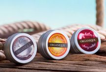 Lip Balms / Lip balms with a mild consistency, free of paraffin, mineral waxes, silicones and preservatives.