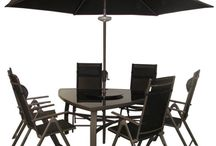 Furniture: Metal Flash / Metal Patio Furniture - Chairs, Benches, Sun Loungers & More