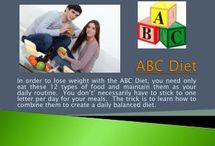 Diets That Work / The remarkable popularity of the ABC diet is built on the perception that it is able to boost metabolism and thus facilitating a much faster process of cutting down calories. The ABC diet helps you cut down on fats. There is a great misconception among many people globally on the ABC diet. It is a misleading misconception that has no truth in it and thus needs to be done away with. It is not true at all that the ABC diet cuts down on muscles.