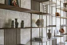 Librerie ferro - legno