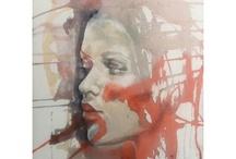 Tanja Vean's paintings