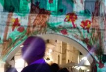 Glo Festival 2016 - Video Projections / Glo Festival - Ostuni 2016  A series of 15+ video projections onto or inside of historial buildings.  Fantastic