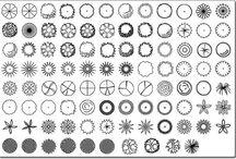 sposoby rysowania roślin na planszy