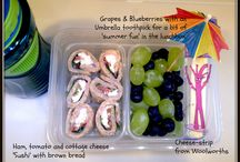 Images of Packed Lunchboxes