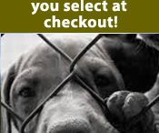 Our Products / 100% of our net profits will be given to pet shelters and rescues.