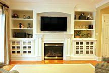 Dream family room Ideas / by Lindsey Pierce