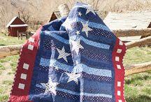 Patriotic Quilt / by Diane Hall