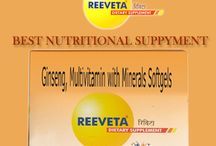 Reeveta:-The Best Nutritional Supplements