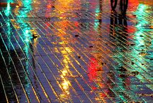 Lluvia Rain  / Paisaje con lluvia, nubes ...