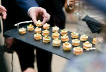 Canapessss / Set the scene with something fabulous to start. These canapés are passed amongst your guests on decorated platters with herb and flower garnishes and service with a smile. The choice is up to you.