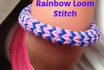 Crafty creations / Learning to crochet even if it kills me, Rainbow loom ideas and tutorials for my daughter (and secretly me too)... Also some other assorted art fun / by Kellie Fletcher