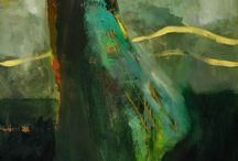 Paintings Green
