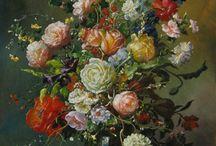 GYULA SISKA ARTIST   Full Collection by Gyula Siska / View our collection of Floral Paintings by Gyula Siska