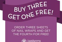 """Jamberry Jams / Jamberry Nails is the newest,most stylish and long lasting way to accessorize your fingers and toes! / by Simply Nails by Janet Your Independent Jamberry Consultant"""""""
