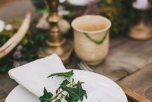 WEDDING STYLING // Enchanting Woodland Shoot