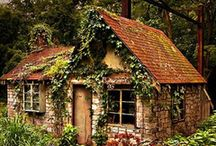 Adorable tiny cabins