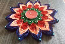 Bunga Tatakan Lilin