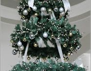 Christmas bauble ceiling decoration for large display