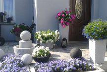ball garden / garden balls  designs