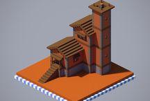 construção de Minecraft