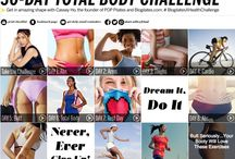 30-Day Total Body Challenge / Get in shape in just 4 weeks with the #BlogilatesXHealthChallenge! / by Health magazine