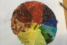 Färger. Cirklar