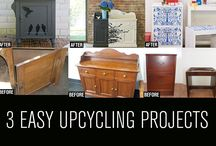 DIY Renovating Ideas - Furniture etc / How to recycle old items to look like new