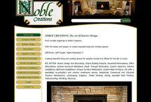 NOBLE CREATIONS Website Design
