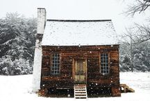 Cabins, Interior & Fireplaces/Stoves